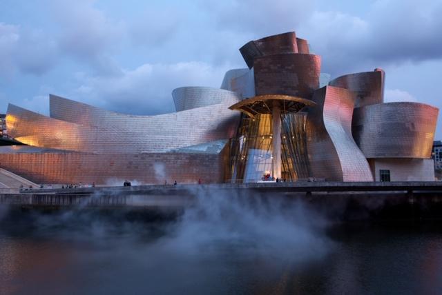 Foto Guggenheim museum van Lieske Meima